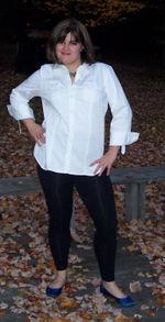 Top Ten Female Wardrobe Staples: Crisp White Shirt